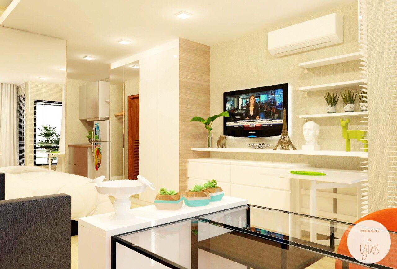Small Apartment 30 Sqm Condo Design Condo Interior Living