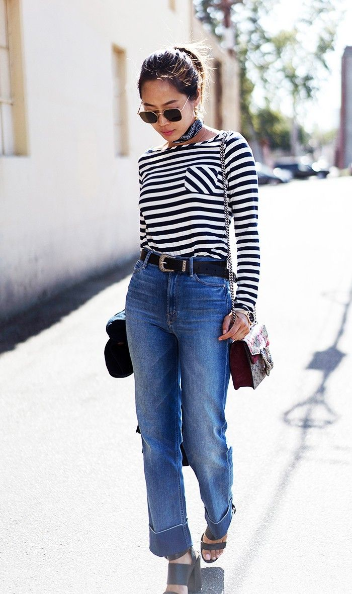 where every fashion blogger buys her jeans via whowhatwear clothes pinterest fashion bloggers rachel comey and fashion
