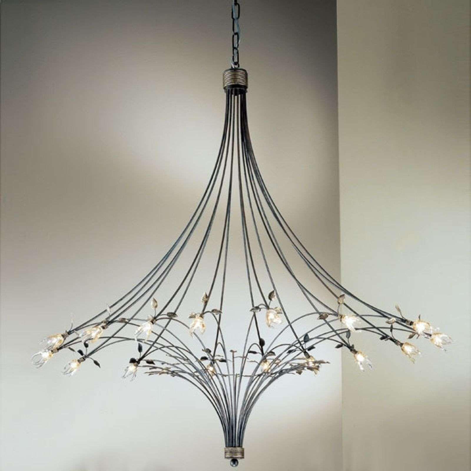 Imposante Kroonluchter Millefoglie 16 Lichts Van Kogl Muranoglas Lampen En Lampen24