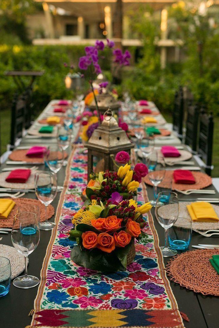 Mexican fiesta wedding theme