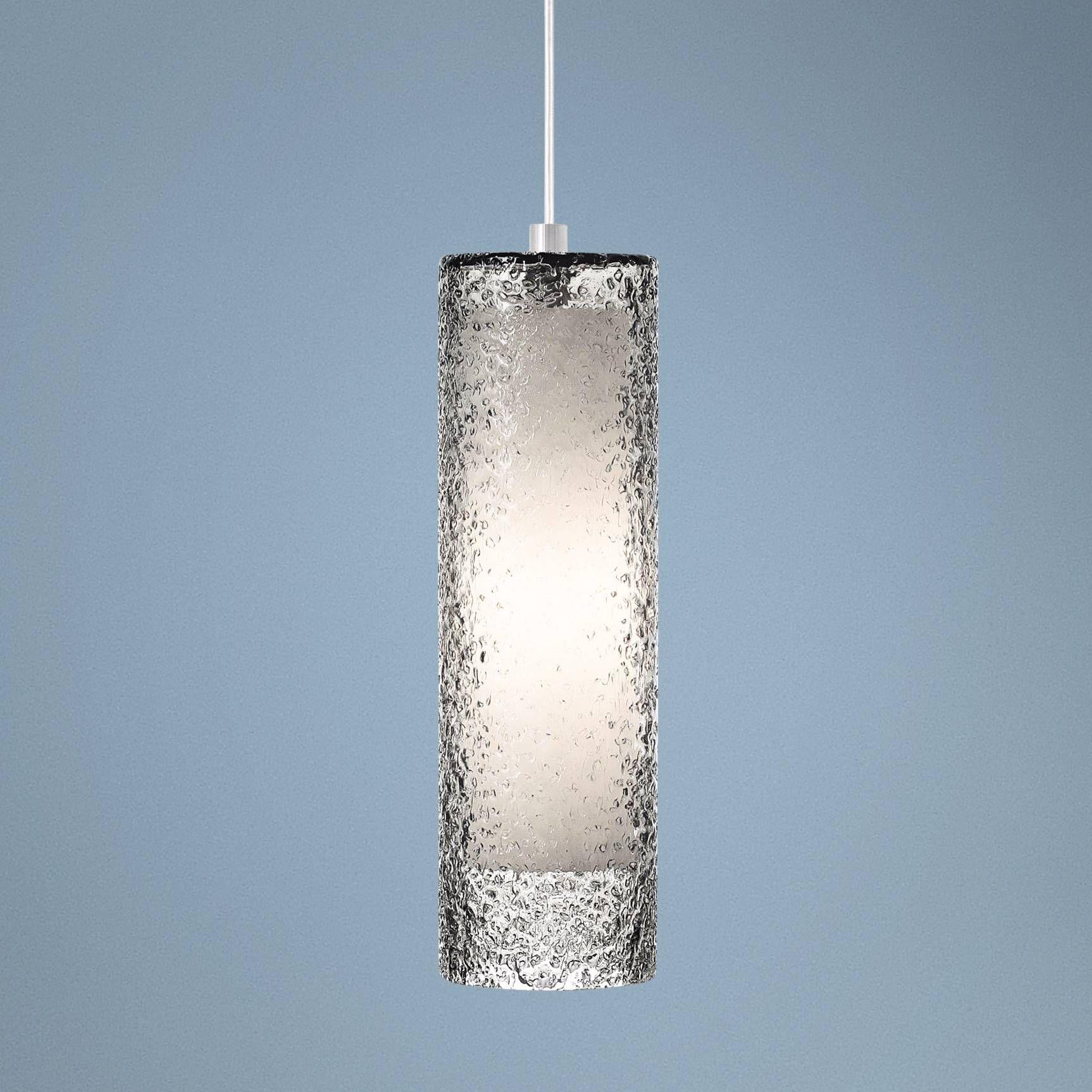 Lbl Rock Candy 4 3 Wide Smoke Gl Mini Pendant V2267 Lamps Plus