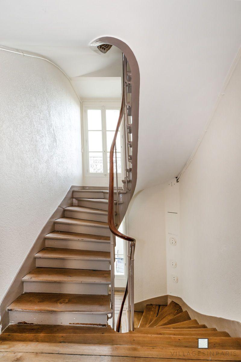 Cage D Escalier Paris Ancienne Staircase Decoration Maison