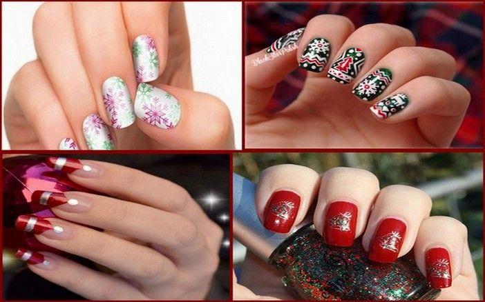 Easy Christmas Nail Art Designs #StylishNails #NailPaint ...