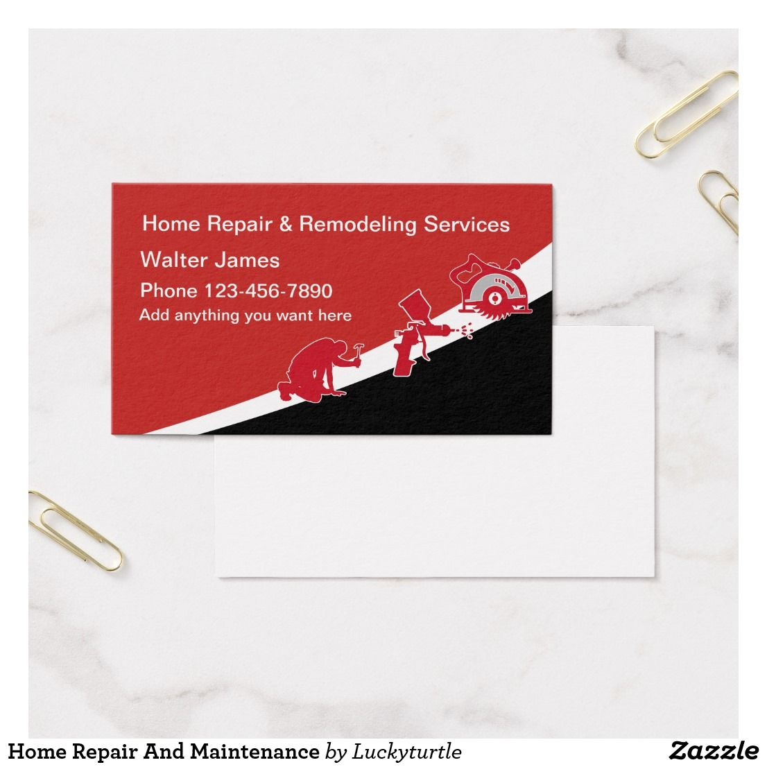 Home repair business cards images free business cards home repair and maintenance business card business pinterest home repair and maintenance business card magicingreecefo images magicingreecefo Image collections