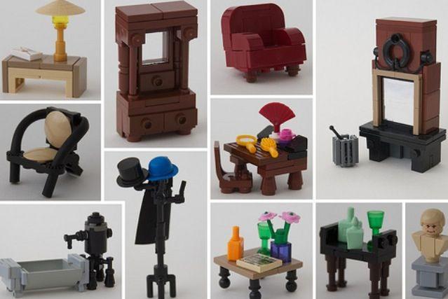 Lego Furniture Love It Legohouse Interiordesign Lego Lego