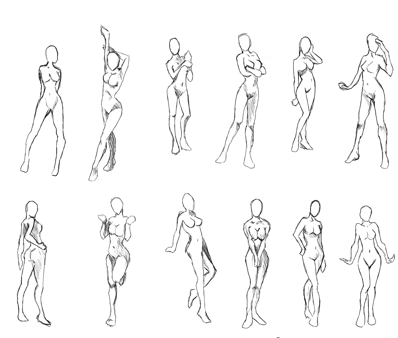New Concept Art For The Second Cover Of Asj Body Template Figure Drawing Reference Art Reference Poses
