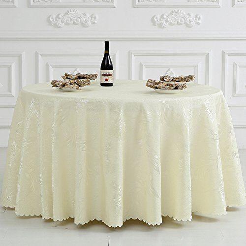 Hotel Tablecloth/Hotel/Restaurant Round Tablecloths/ Square Table Cloth/ Table  Cloth/Banquet Round Table Cloth/Table Skirt D Diameter320cm(126inch)