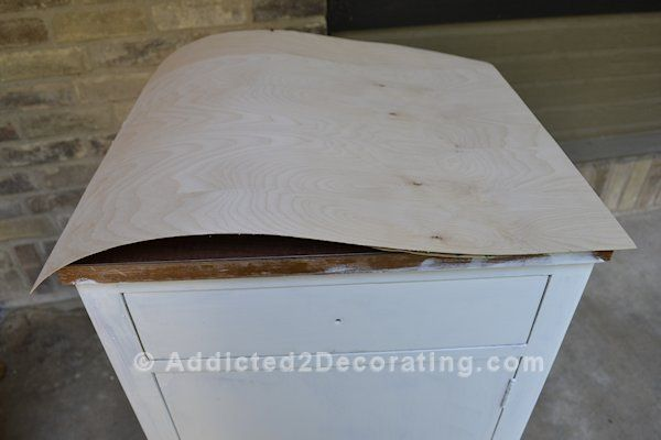 Cover Ugly Laminate With Real Wood Veneer How To