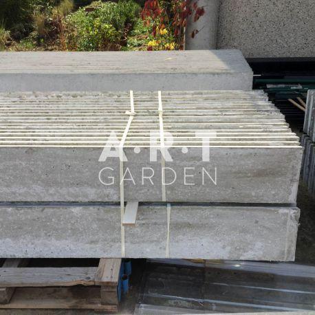 Plaque Beton De Soubassement Cloture Bois Ou Grillage Rigide Jardin Dalle Beton Soubassement Beton Pose Grillage