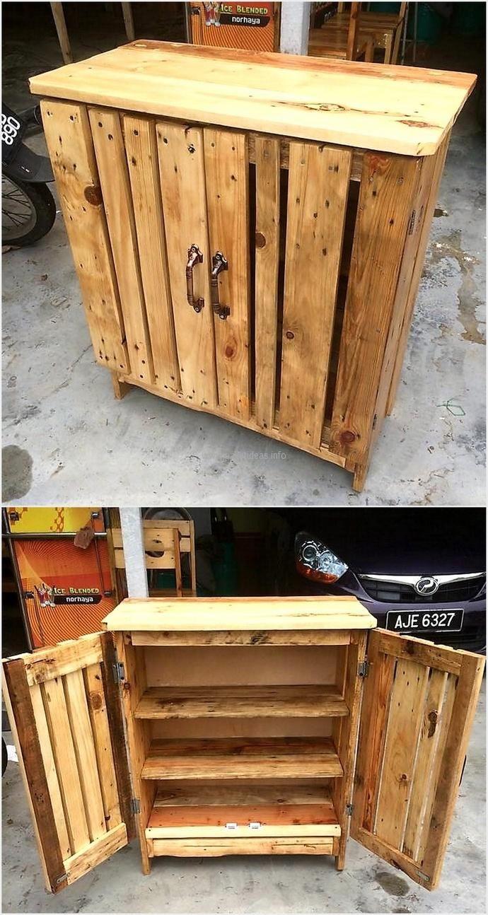 pallet chest of drawer idea bois pinterest palette meuble palette et mobilier de salon. Black Bedroom Furniture Sets. Home Design Ideas