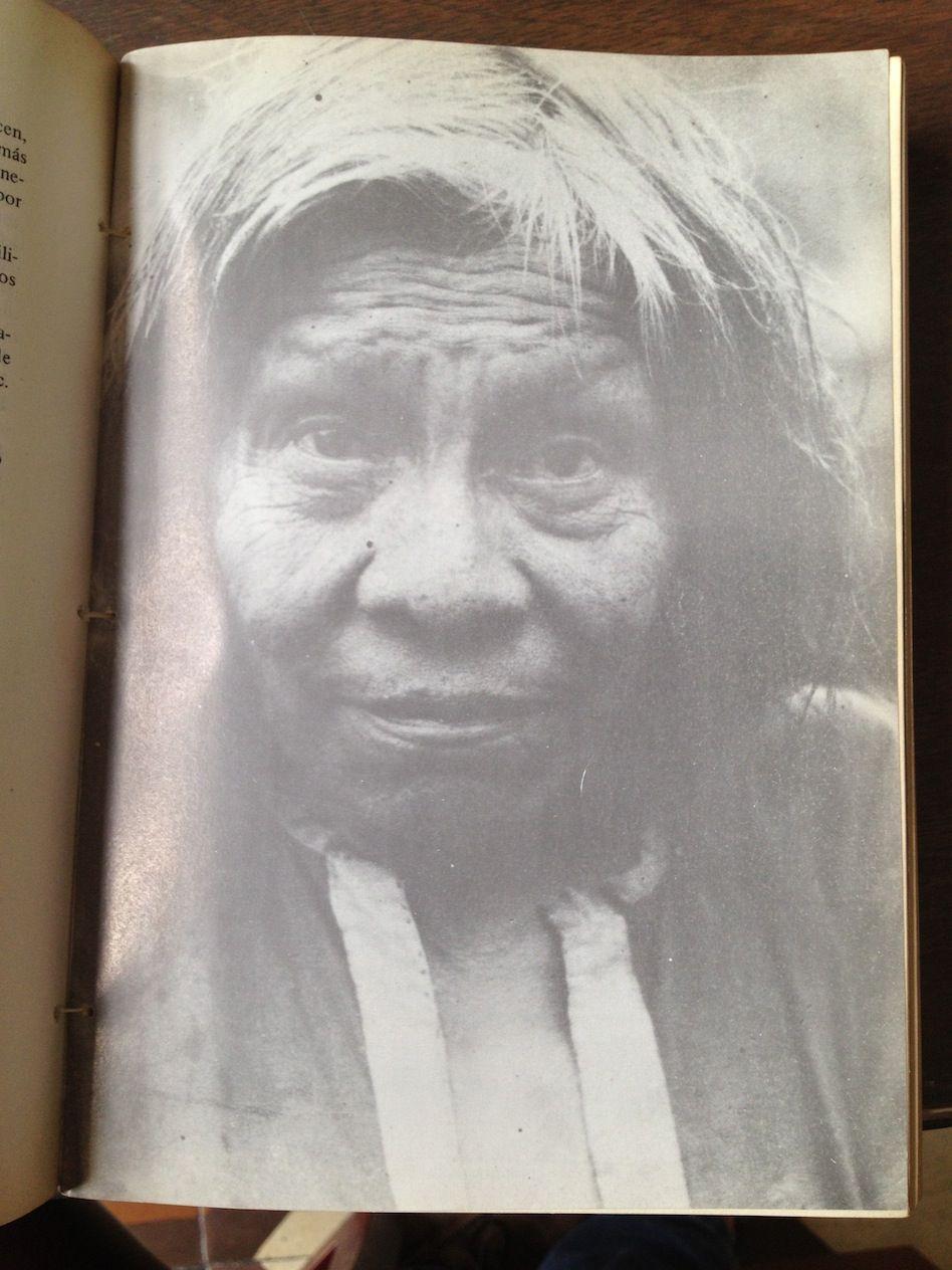 Indigena Catío, anziano, primi del 900