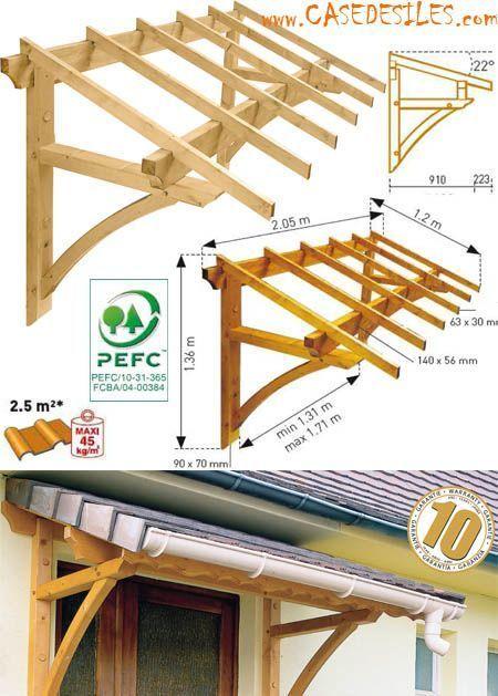 Auvent Bois Casedesiles Com Auvent Bois Cas Auvent Bois Cas Casedesilescom Francaise Haustur Markise Vordach Selber Bauen Vordach Holz