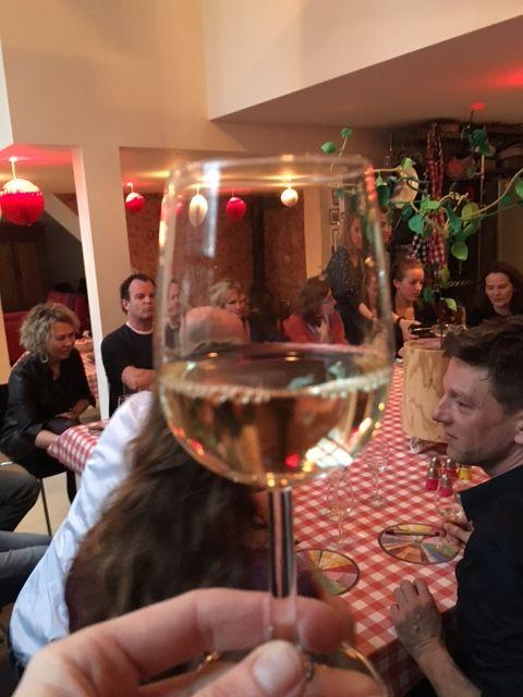Dutch wine tasting