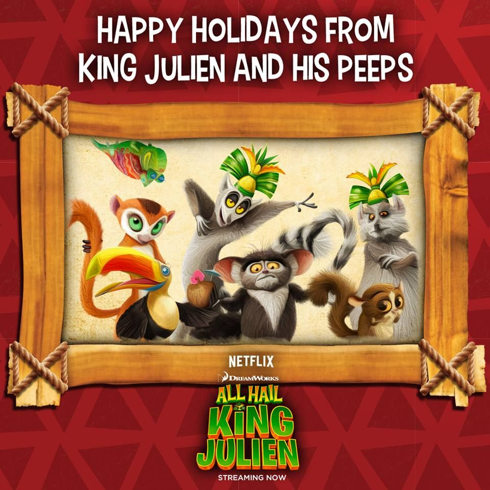 Party in the New Year with the Kids and King Julien's