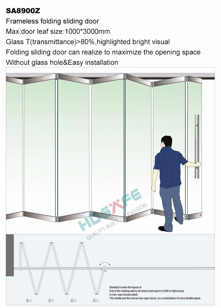 Source Door Designs Frameless Glass Folding Door Sliding Folding Partitions On M Alibaba Com Wooden Glass Door Folding Glass Doors Folding Doors