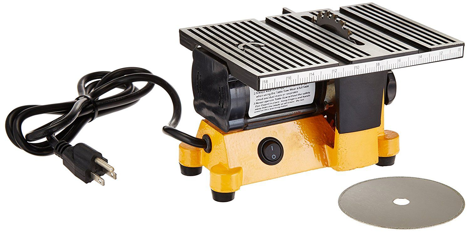 Outdoor Sport 01 0819 Mini Electric Table Saw 4 In Power Table Saws Amazon Com Best Table Saw Table Saw Reviews Small Table Saw