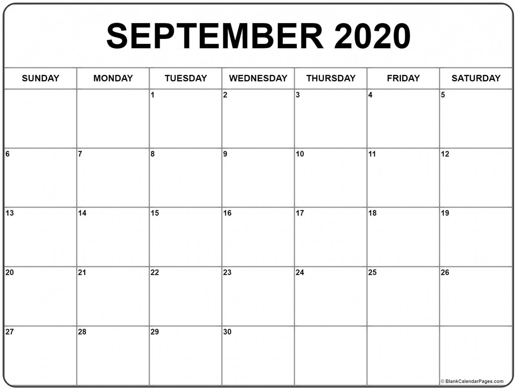 Blank Calendar Template September 3 Here S What Industry Insiders