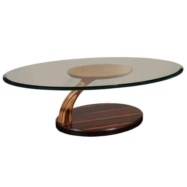 Clark Copper Oval Coffee Table Barkeaterlake Com