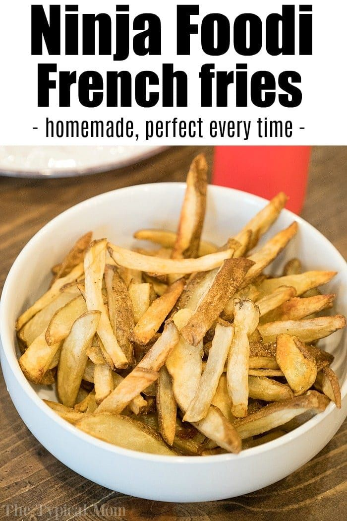 Ninja Foodi french fries are easy to make in your new air