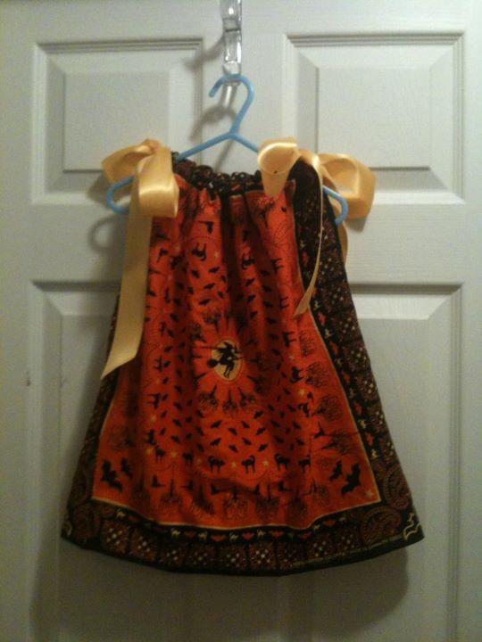 Halloween bandanna dress