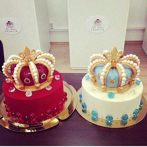 Image de cake Queen and crown Gteaux et desserts Pinterest