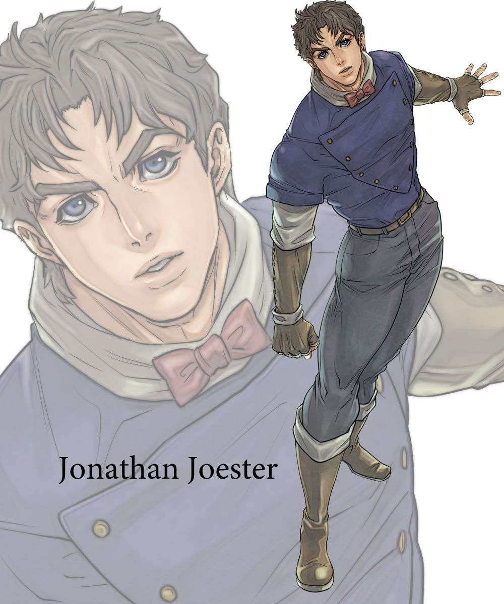 Jonathan Joestar - Jojo's Bizarre Adventure | Completed Projects in