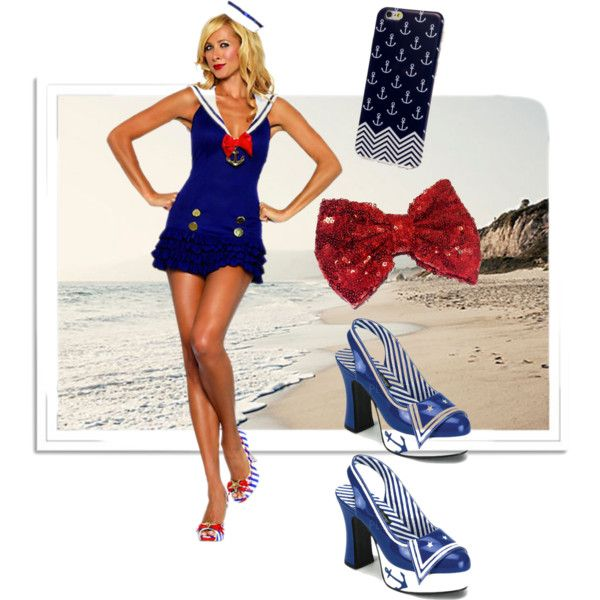 Sailor Girl - Accessories by empirecase on Polyvore featuring Leg Avenue and Funtasma