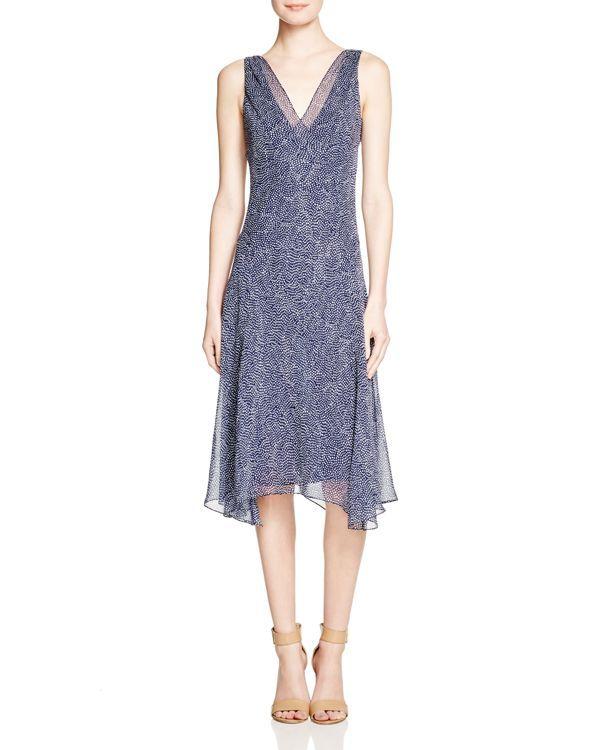 Diane von Furstenberg Dita Polka Dot Silk Dress   Products   Pinterest