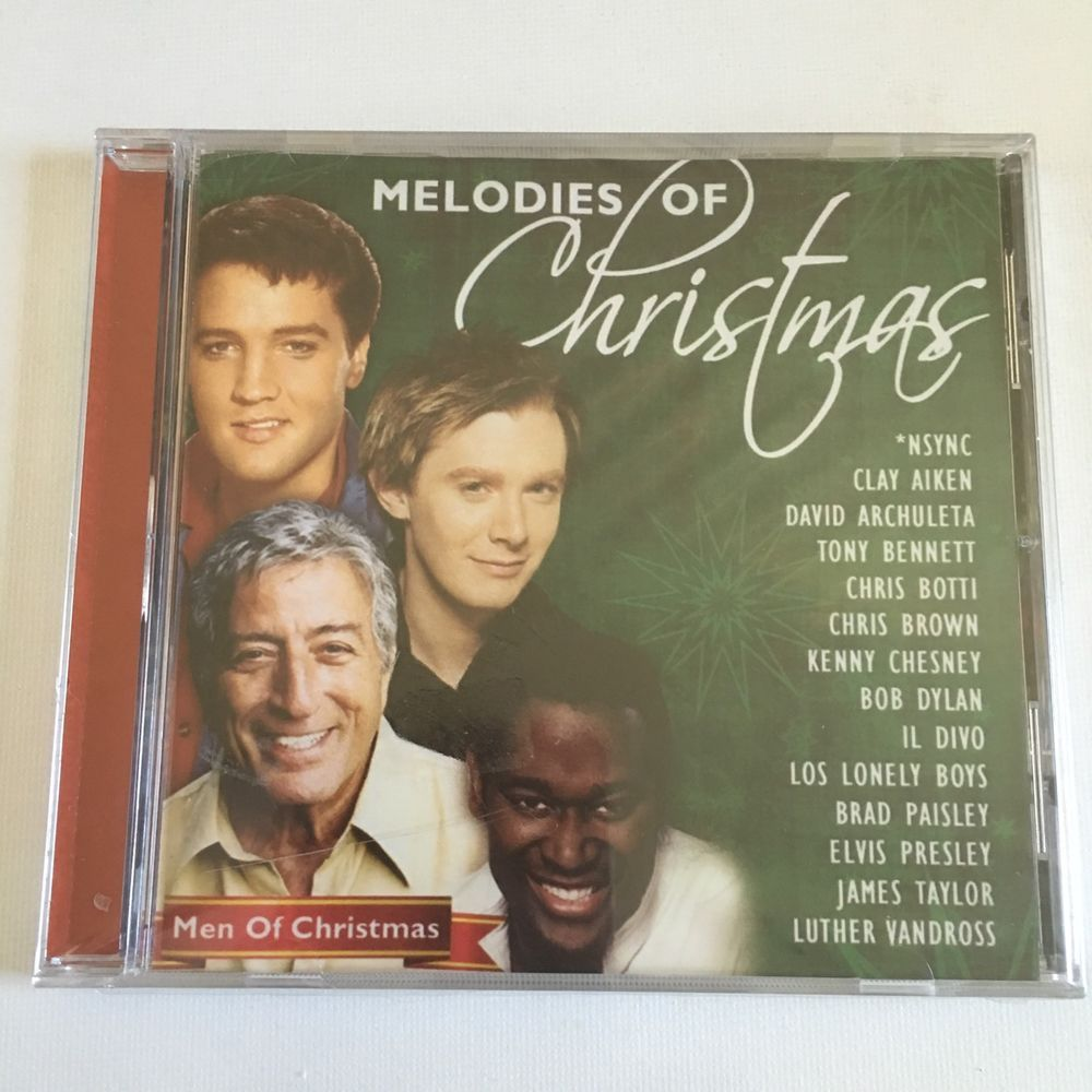 Christmas Songs Melodies Men CD Aiken NSYNC Bennett Elvis James ...