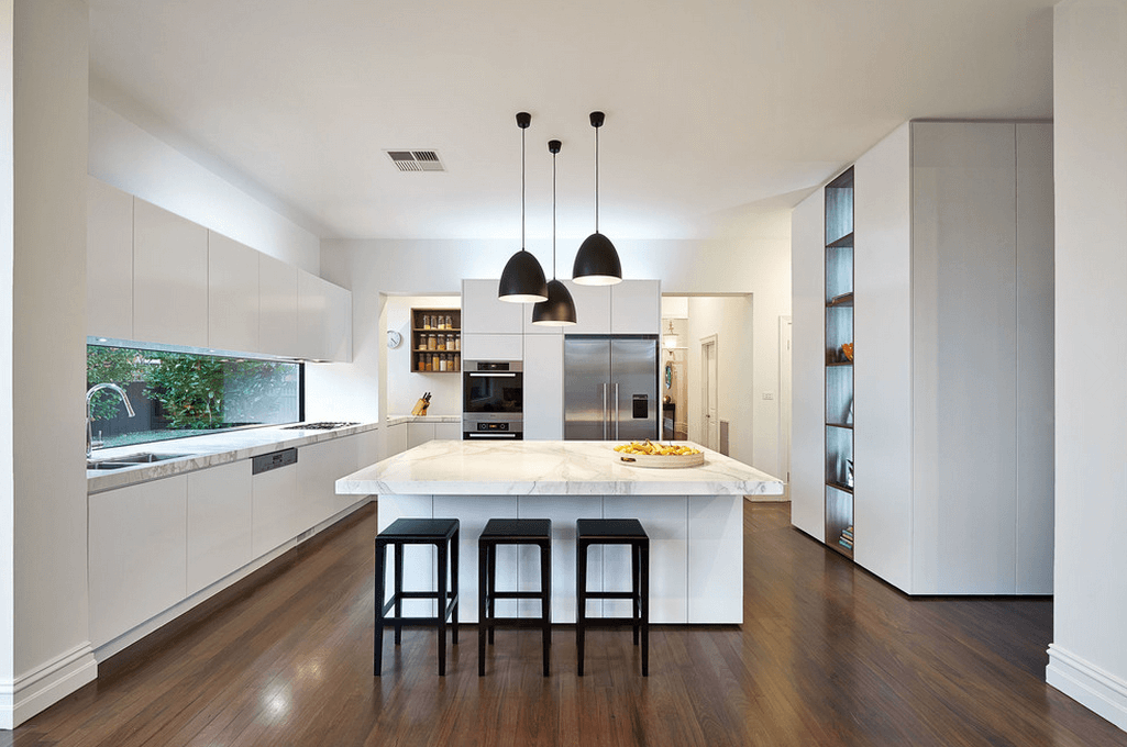 White Kitchen Ideas To Inspire You White Modern Kitchen Contemporary Kitchen Kitchen Design