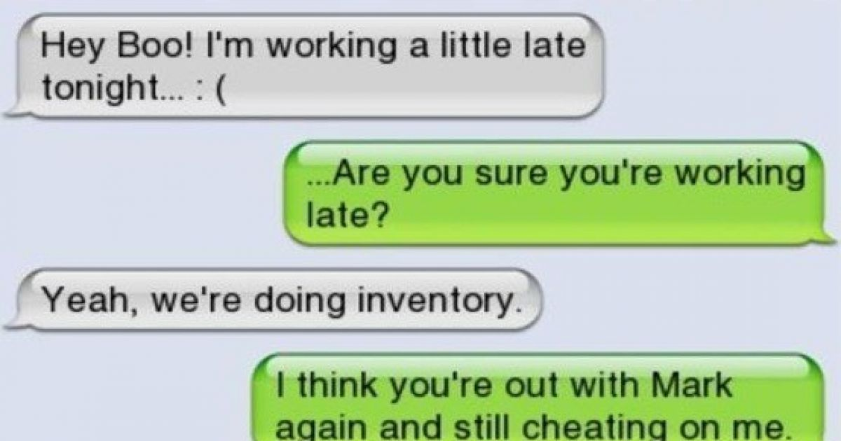 15 texts that ended relationships for good cheating text