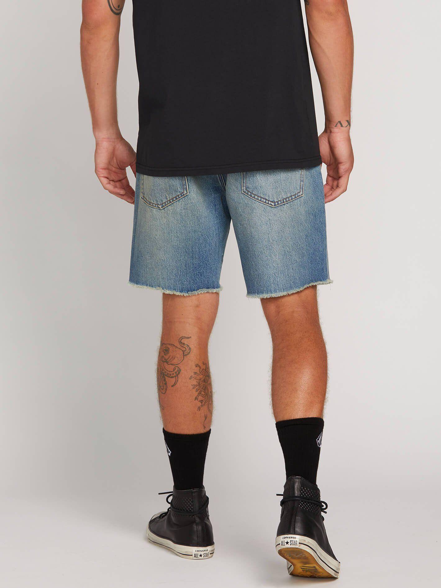 Kinkade Denim Cutoff Shorts - Faded Vin #denimcutoffshorts