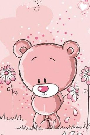 ♥♥adorable pink teddy bear♥♥