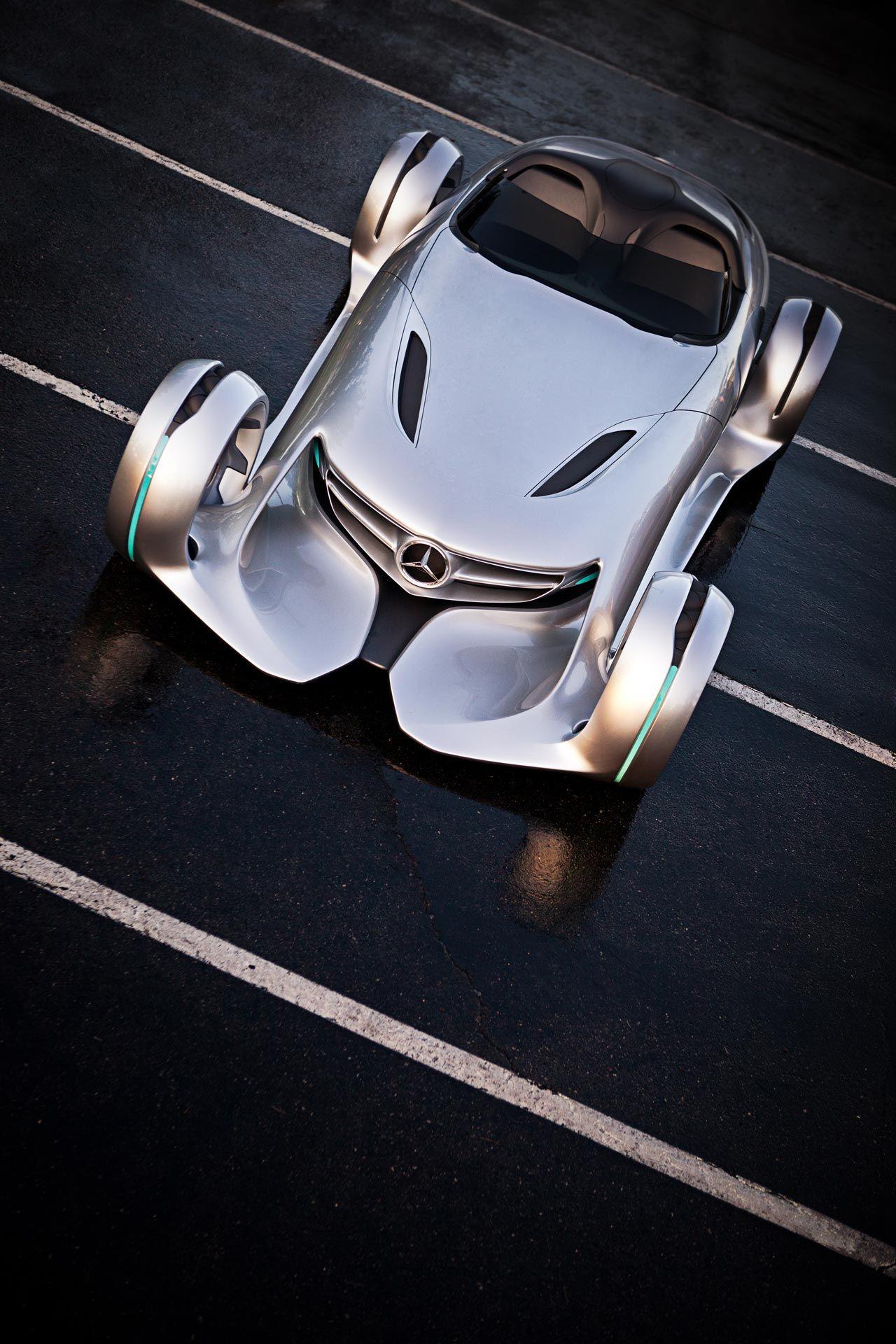 mercedes benz silver lightning concept