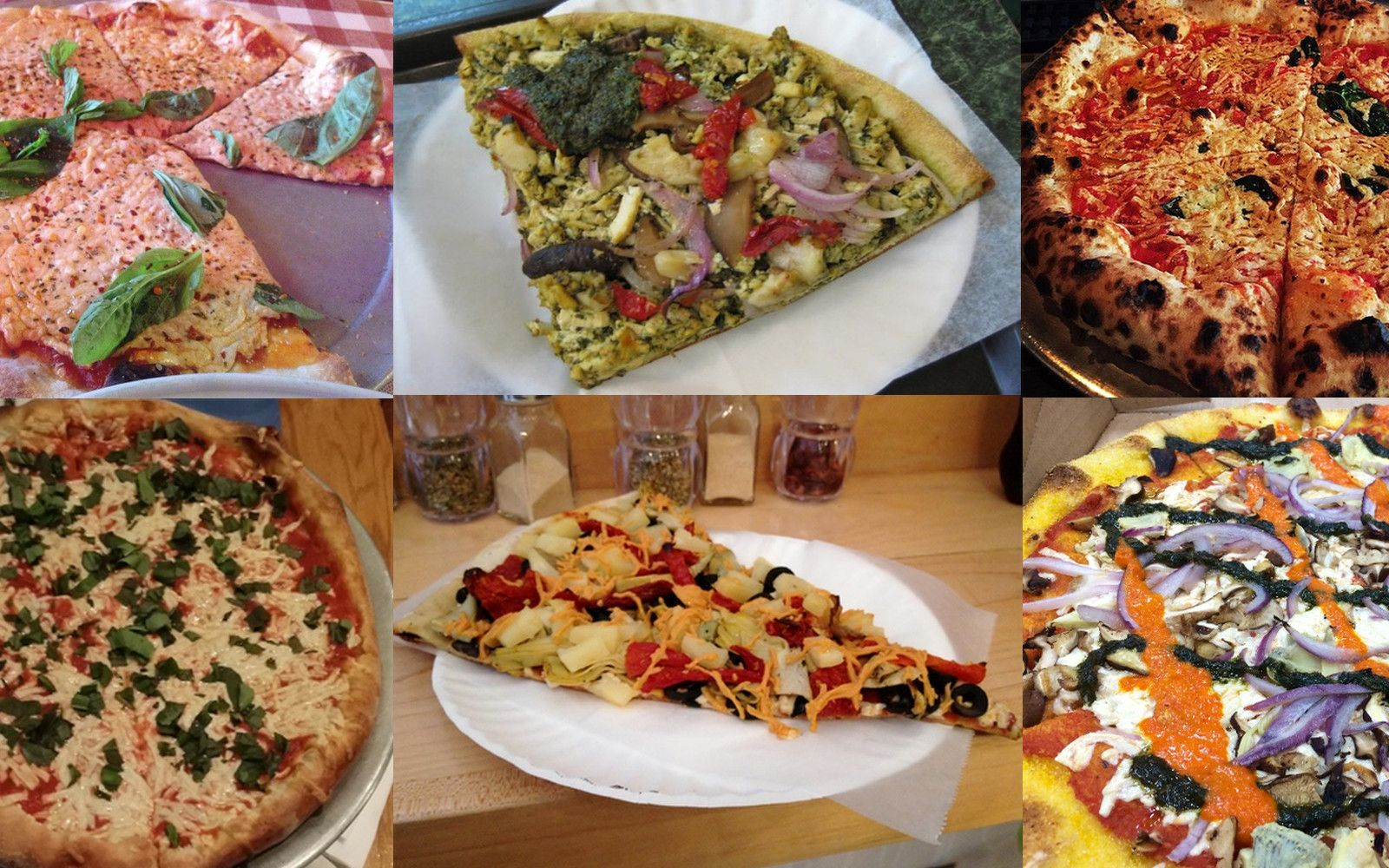 Veg City Guide 10 Popular Dairy Free Pizzas In Nyc New York Pizza Vegan Breakfast Easy Vegan Restaurants