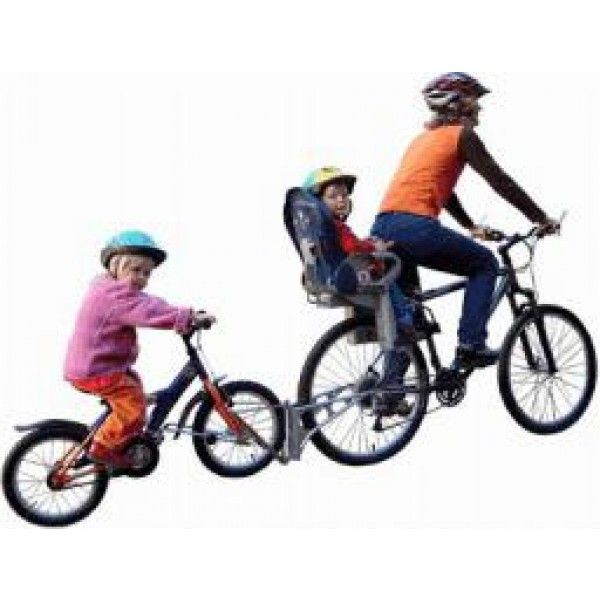 Followme Tandem Coupling Child Bike Trailer Tandem Bike Kids Bike
