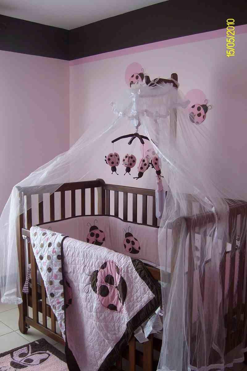 Baby Girl Nursery Room Idea Pink With Ladybugs Baby