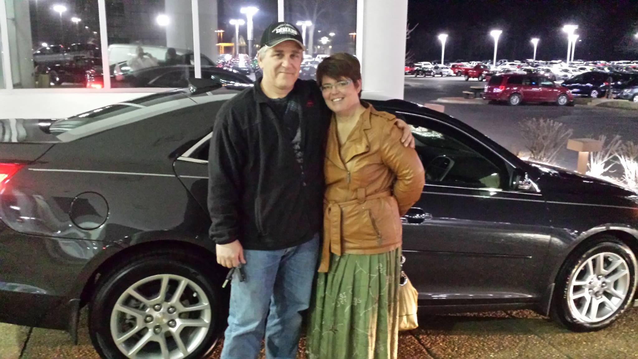 Mildred Smith and Kurt Kirchner are set to enjoy their new Chevrolet