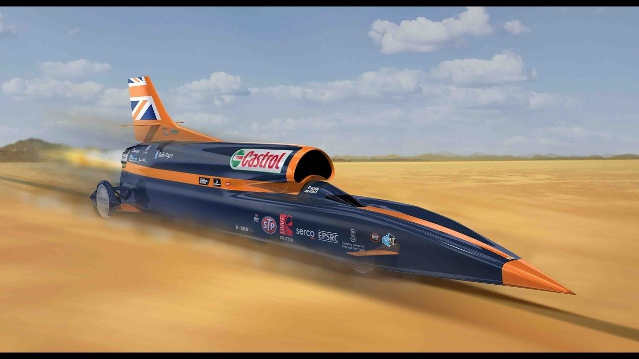 The Bloodhound Ssc Project A Supersonic Car 2016 Cars Https Youtu Be Hkw74jq3lpq Fast Cars Bloodhound Car