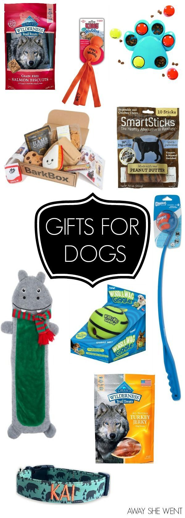 {Gift Guides} Gifts for Dogs Dog gifts, Christmas gift