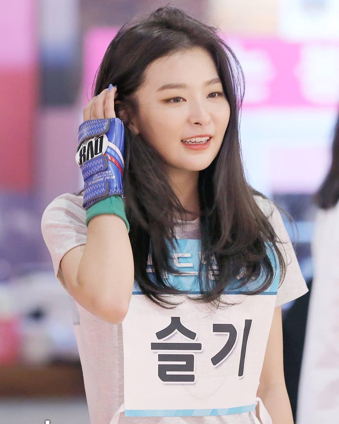Red Velvet S Seulgi Mbc Isac2018 Bowling Streaming Powerup Mv Https Youtu Be Aihsvqy9xn8 Beludru Merah Selebritas Gadis Korea
