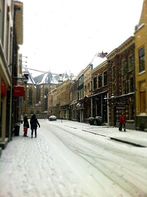 Zwolle in de winter