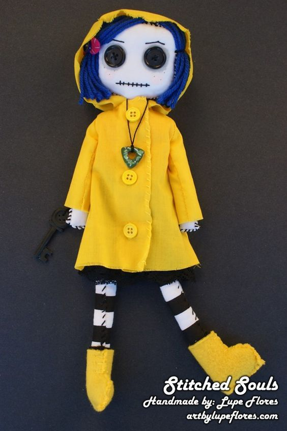 Coraline Another Want Coraline Doll Coraline Fall Halloween Crafts