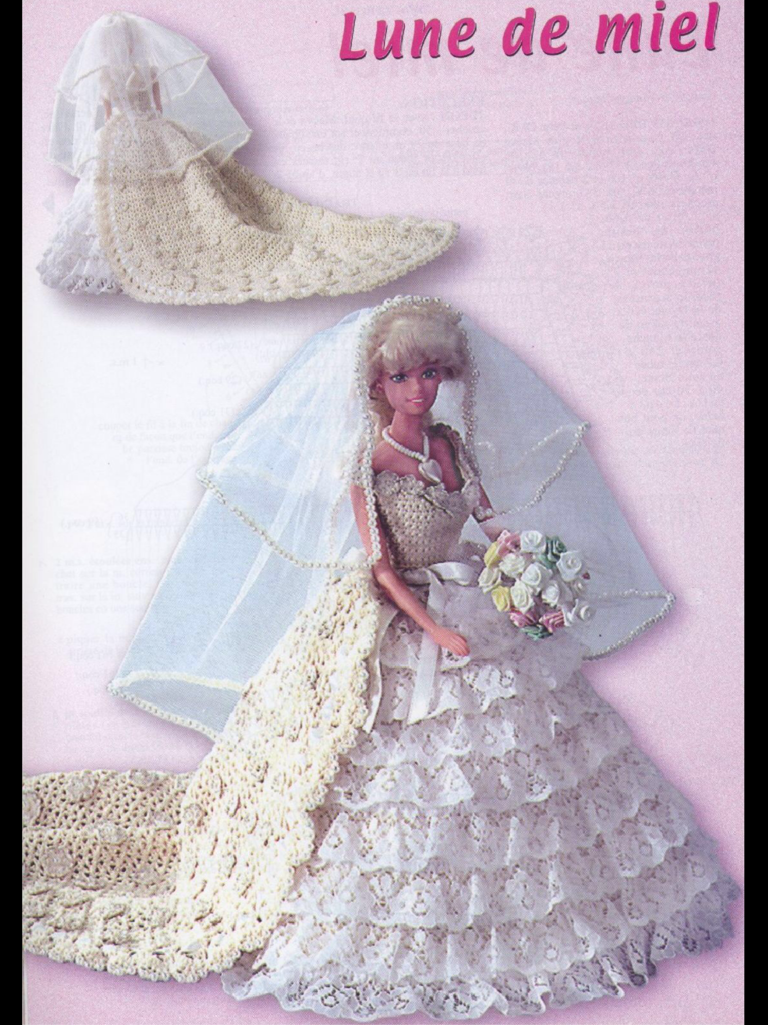 Pin by Candy on 1000 mailles for barbie Barbie wedding