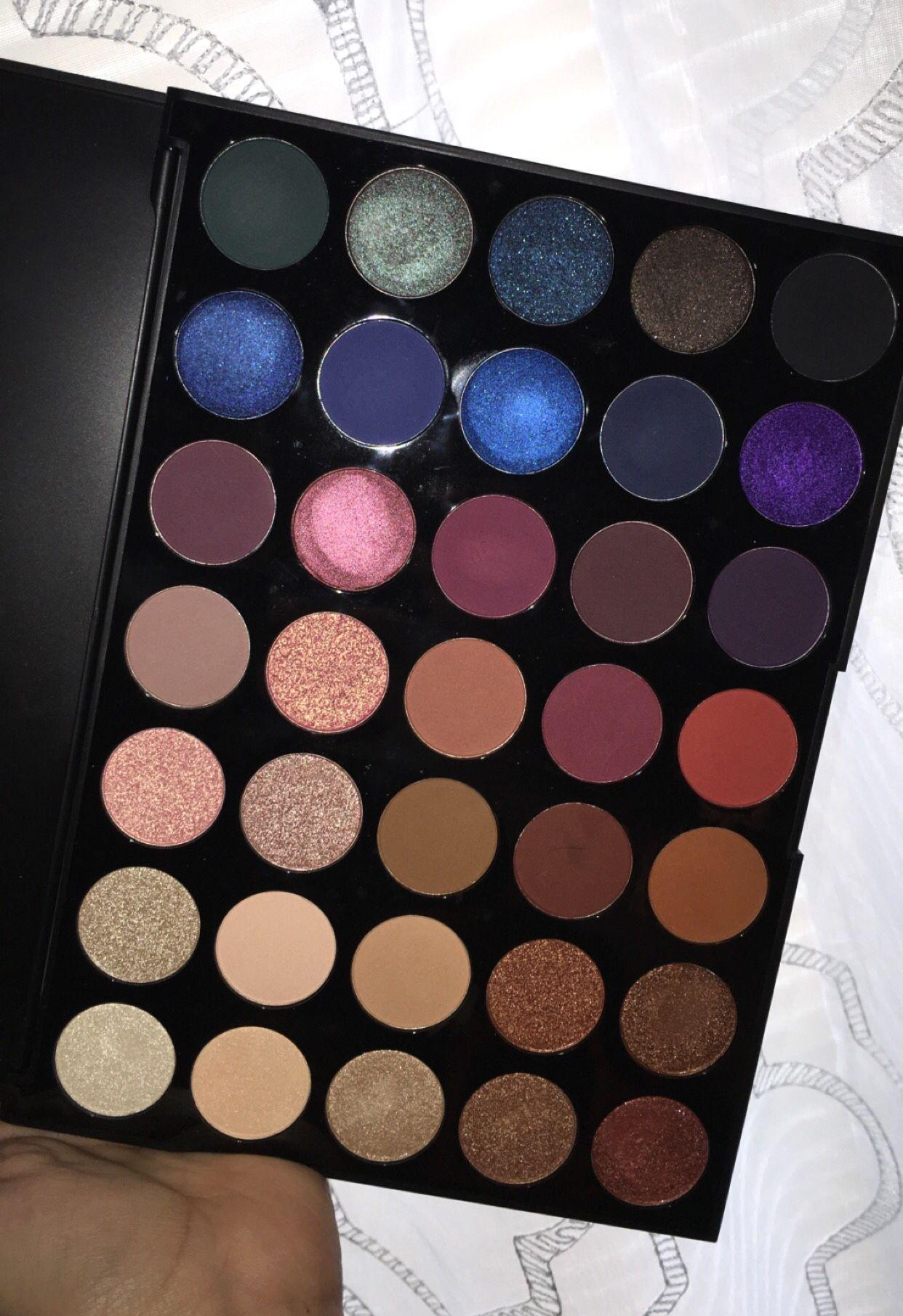 My 35v morphe palette Makeup, Morphe, Morphe palette