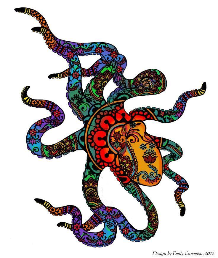 Photo of Octopus Tattoo – Google Search Mein Hinweis: Ich liebe das Muster für das Innere von etwas …, #Google …