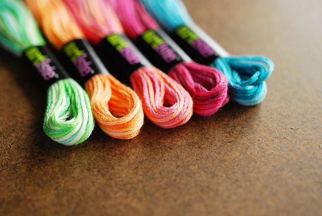 Review Artiste Variegated Floss From Hobby Lobby Embroidery