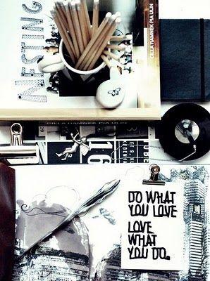 Inspirações - Preto e Branco