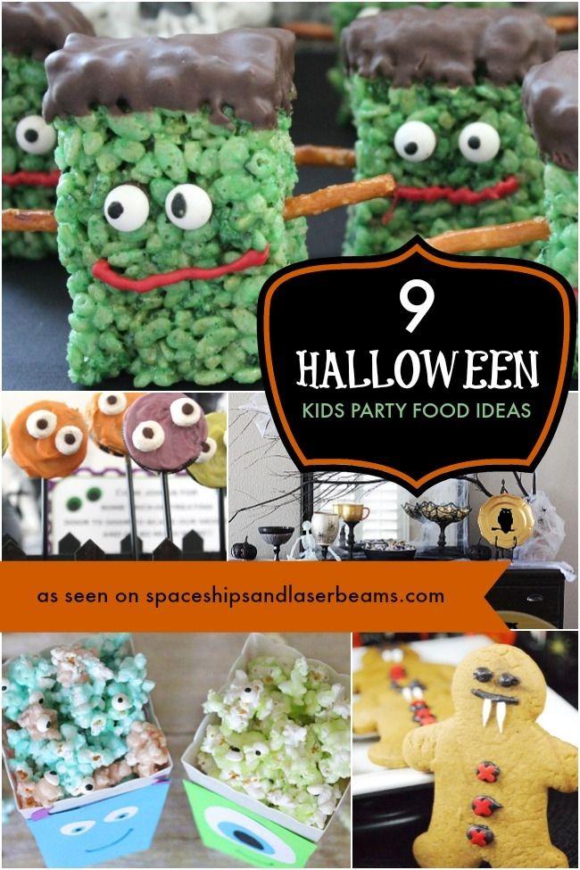 9 Creepy Halloween Party Treats \u2013 Boy Birthday Party Ideas and - kid halloween party ideas