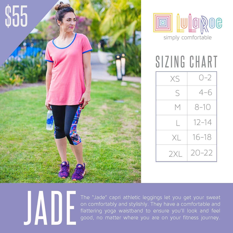 a9b5a8c700eb90 LuLaRoe Jade Size Chart with Prices | Sizing Charts 2016 | Lularoe ...